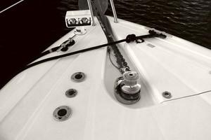 53' Sunseeker Portofino 53 2006 Anchor detail