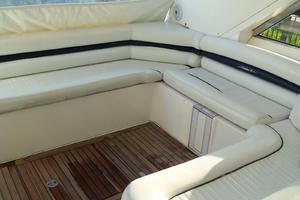 53' Sunseeker Portofino 53 2006 Helm deck seating
