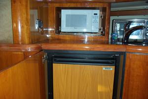 53' Sunseeker Portofino 53 2006 Galley storage