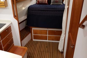 Cabin Sole And Froward Berth