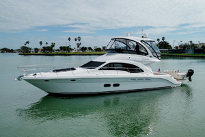 52' Sea Ray 52 Sedan Bridge 2007 Port Profile
