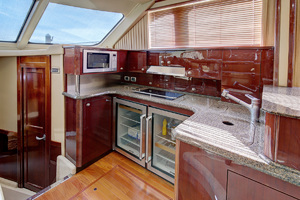 52' Sea Ray 52 Sedan Bridge 2007 New Galley