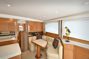 48' Viking 48 Convertible  2003 Galley/Dinette