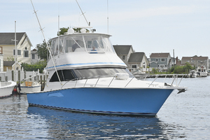 48' Viking 48 Convertible  2003 Starboard Bow