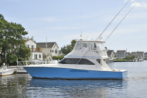 48' Viking 48 Convertible  2003 Port Side