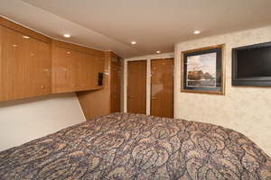 48' Viking 48 Convertible  2003 Master Stateroom - Aft View