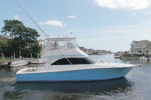 48' Viking 48 Convertible  2003 Starboard Side