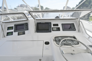 48' Viking 48 Convertible  2003 Helm Station