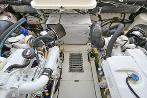 Tiara 3800 Open-2003-Catch 22 Oyster Bay-New York-United StatesEngine Compartment  1224933 thumb