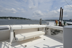 Tiara 3800 Open-2003-Catch 22 Oyster Bay-New York-United StatesCockpit Fold Out Bench 1224909 thumb