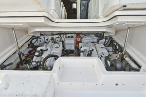 Tiara 3800 Open-2003-Catch 22 Oyster Bay-New York-United StatesEngine Compartment  1224932 thumb