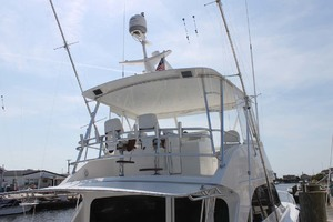 52' Viking 52 Convertible 2002 Hardtop With Enclosure And Teak Helm Chairs