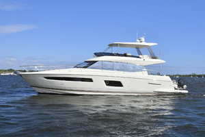 56' Prestige 56 Flybridge  2017 Port Side