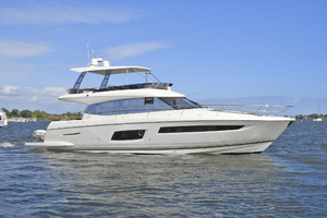 56' Prestige 56 Flybridge  2017 Starboard Side