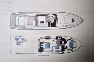 72' Princess V72 2013 Layout Sketch