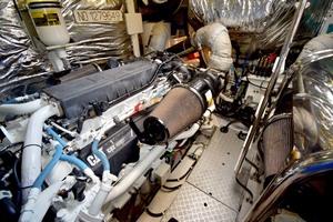 72' Princess V72 2013 Twin Cat 32 ACERT Engines