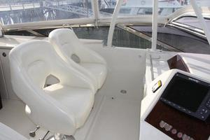 65' Marquis 65 Motor Yacht Skylounge 2006 Guest Helm Seating