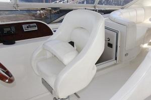 65' Marquis 65 Motor Yacht Skylounge 2006 Captain Helm Seat