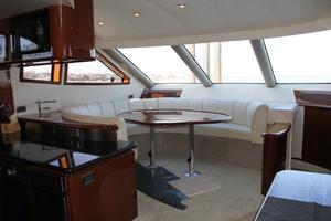 65' Marquis 65 Motor Yacht Skylounge 2006 Skylounge Dinette