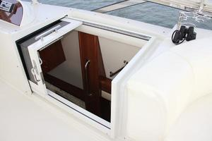 65' Marquis 65 Motor Yacht Skylounge 2006 Stairwell to Salon