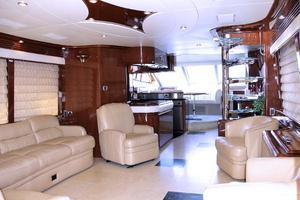 65' Marquis 65 Motor Yacht Skylounge 2006 Salon