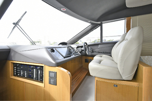 Princess 52 Flybridge-2017 -Staten Island-New York-United StatesLower Helm Station  1239280 thumb