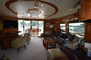 SEA DOZER is a Hatteras 80 Motoryacht Yacht For Sale in Jupiter--27