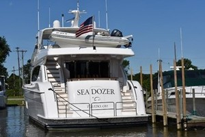 SEA DOZER is a Hatteras 80 Motoryacht Yacht For Sale in Jupiter--14