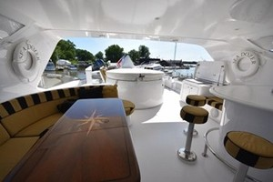 SEA DOZER is a Hatteras 80 Motoryacht Yacht For Sale in Jupiter--47