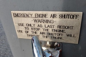 50' Willard Ub 1989 EmergencyEngineAirShutoff