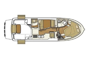 31' Ranger Tugs 31 Sedan 2017  LAYOUT