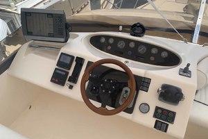 46' Viking 46 Flybridge Yacht 1999 Helm