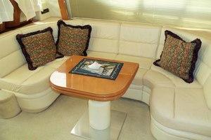 46' Viking 46 Flybridge Yacht 1999 Salon to  starboard