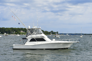 47' Viking 47 Convertible 1997 Starboard Side