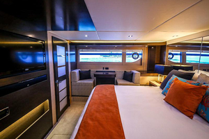 60' Cruisers Yachts 60 Cantius 2017 Master stateroom view 4
