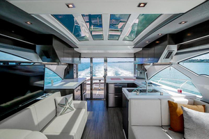 60' Cruisers Yachts 60 Cantius 2017 Upper salon looking aft