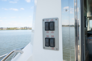 60' Cruisers Yachts 60 Cantius 2017 Switches in the cockpit