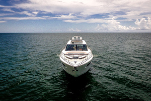 60' Cruisers Yachts 60 Cantius 2017 Bow profile