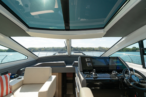60' Cruisers Yachts 60 Cantius 2017 Helm view 2