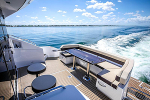 60' Cruisers Yachts 60 Cantius 2017 Cockpit view 2