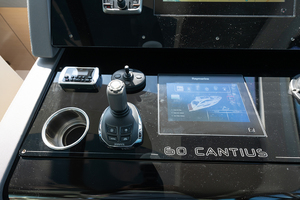 60' Cruisers Yachts 60 Cantius 2017 Volvo Penta docking control at the helm