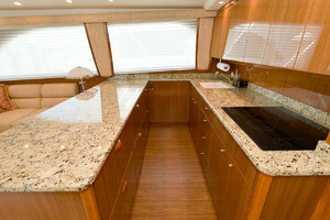 56' Viking 56 Convertible 2006 Galley