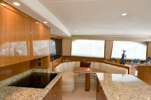 56' Viking 56 Convertible 2006 Galley/Dinette