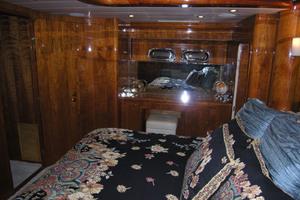 82' Horizon Flybridge Motor Yacht 2001 Master Stateroom Starboard Side