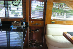 82' Horizon Flybridge Motor Yacht 2001 Port Galley Door