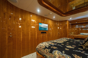 82' Horizon Flybridge Motor Yacht 2001 Master Staterroom