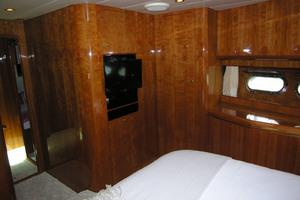 82' Horizon Flybridge Motor Yacht 2001 VIP Stateroom