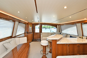 Viking 58 Convertible -2020-Dealers Choice   IN STOCK Staten Island-New York-United StatesSalon Aft View 1242860 thumb