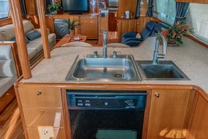 61' Jefferson 61 Marquessa 2001 Galley Sink And Dishwasher
