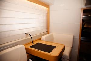 55' Prestige 550 Flybridge 2014 Master Deck